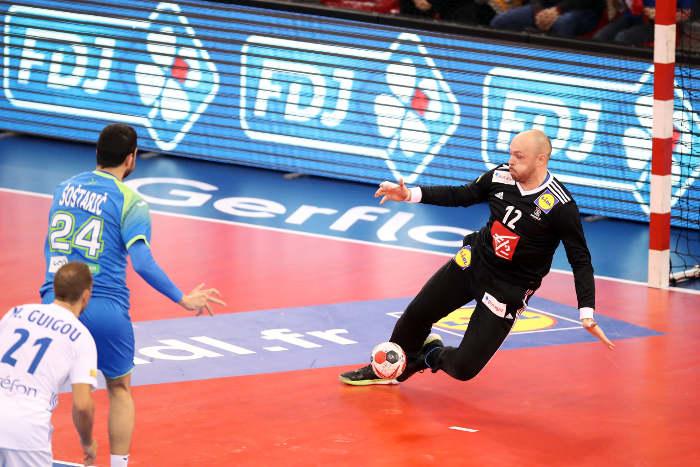 Handball WM 2019: Vincent Gerard - Testspiel Frankreich vs. Slowenien am 07.01.2019 in Rouen - Copyright: FFHandball / S. Pillaud