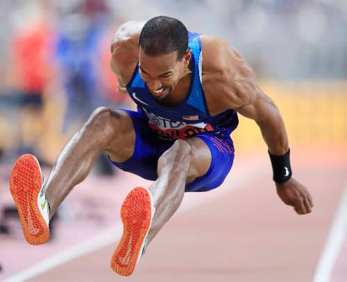 Leichtathletik WM 2019 - Christian Taylor - Foto: © Getty Images for IAAF