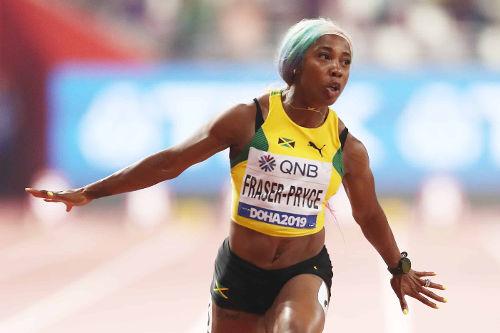 Leichtathletik WM 2019 - Shelly Ann Fraser-Pryce - Foto: © Getty Images for IAAF