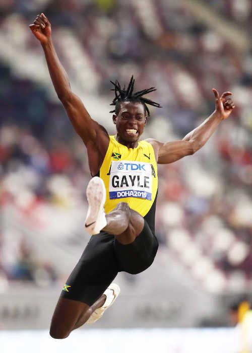 Leichtathletik WM 2019 - Tajay Gayle - Foto: © Getty Images for IAAF