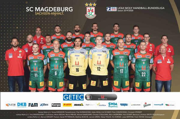 SC Magdeburg - Handball Bundesliga und EHF-Cup Saison 2019-2020 - Foto: SC Magdeburg