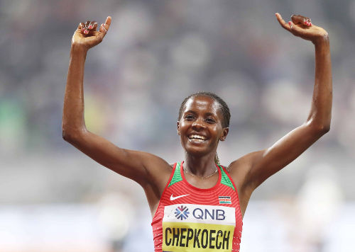 Leichtathletik WM 2019 - Beatrice Chepkoech - Foto: © Getty Images for IAAF