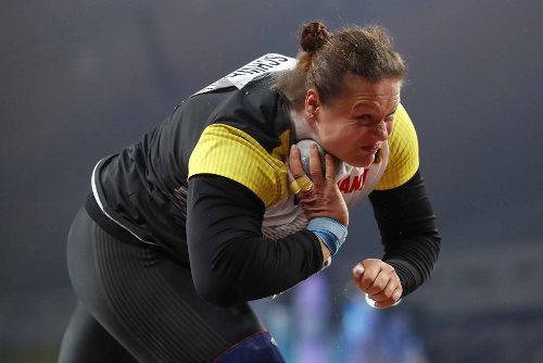 Leichtathletik WM 2019 - Christina Schwanitz - Foto: © Getty Images for IAAF