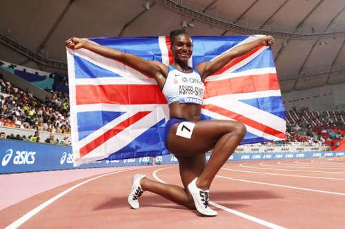 Leichtathletik WM 2019 - Dina Asher-Smith - Foto: © Getty Images for IAAF