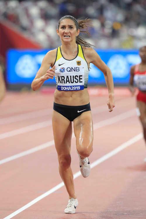 Leichtathletik WM 2019 - Gesa Felicitas Krause - Foto: © Getty Images for IAAF