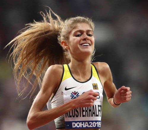 Leichtathletik WM 2019 - Konstanze Klosterhalfen - Foto: © Getty Images for IAAF