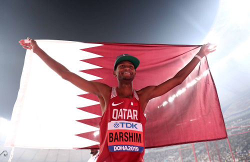 Leichtathletik WM 2019 - Mutaz Barshim - Foto: © Getty Images for IAAF