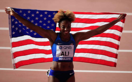 Leichtathletik WM 2019 - Nia Ali - Foto: © Getty Images for IAAF