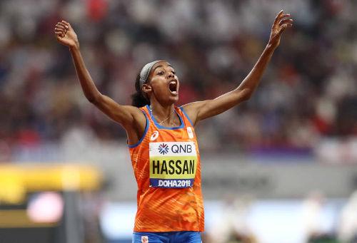 Leichtathletik WM 2019 - Sifan Hassan - Foto: © Getty Images for IAAF
