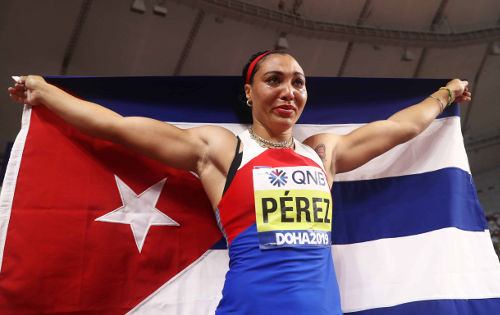 Leichtathletik WM 2019 - Yaime Perez - Foto: © Getty Images for IAAF